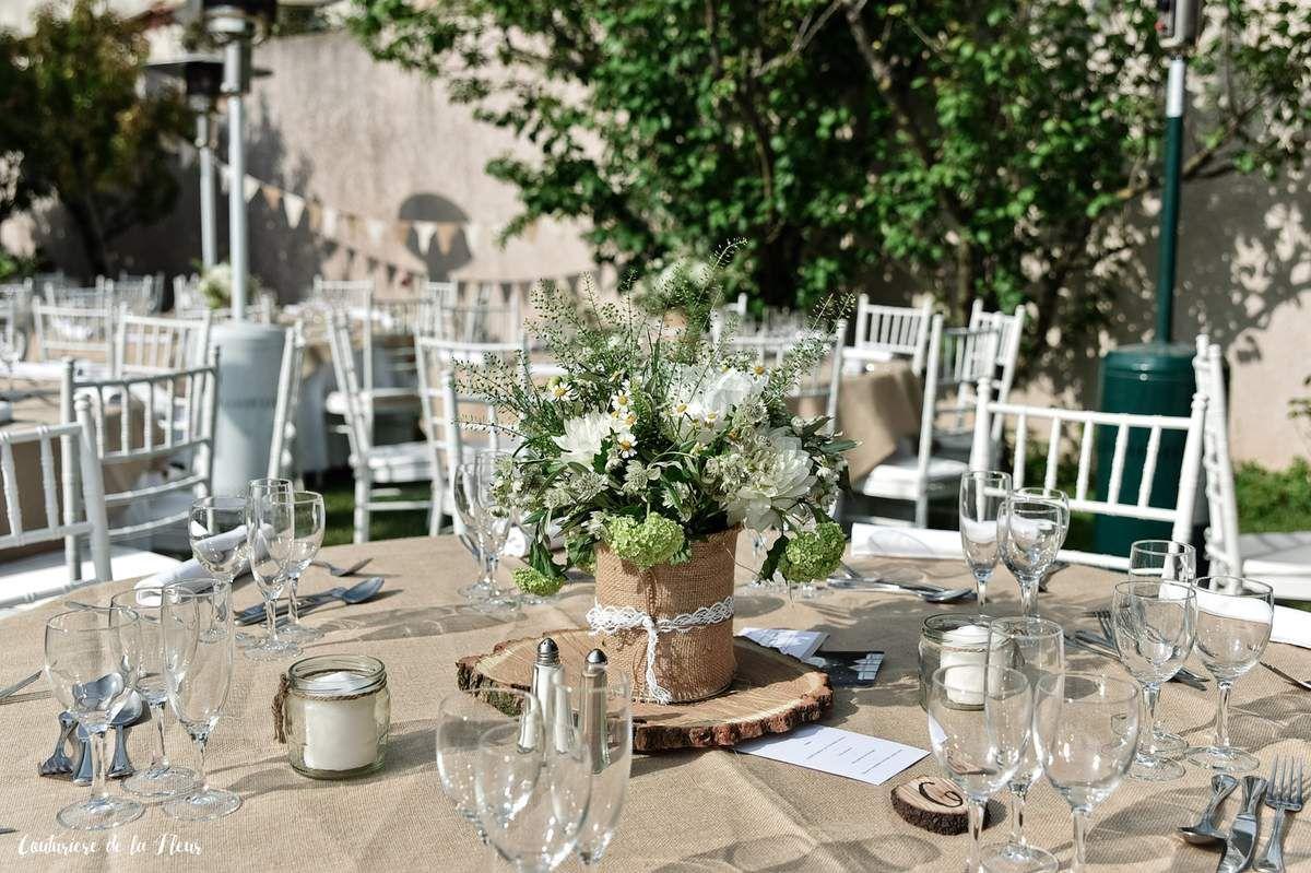 Joli mariage à demeure champêtre par Mariella, organisation de mariage Montpellier