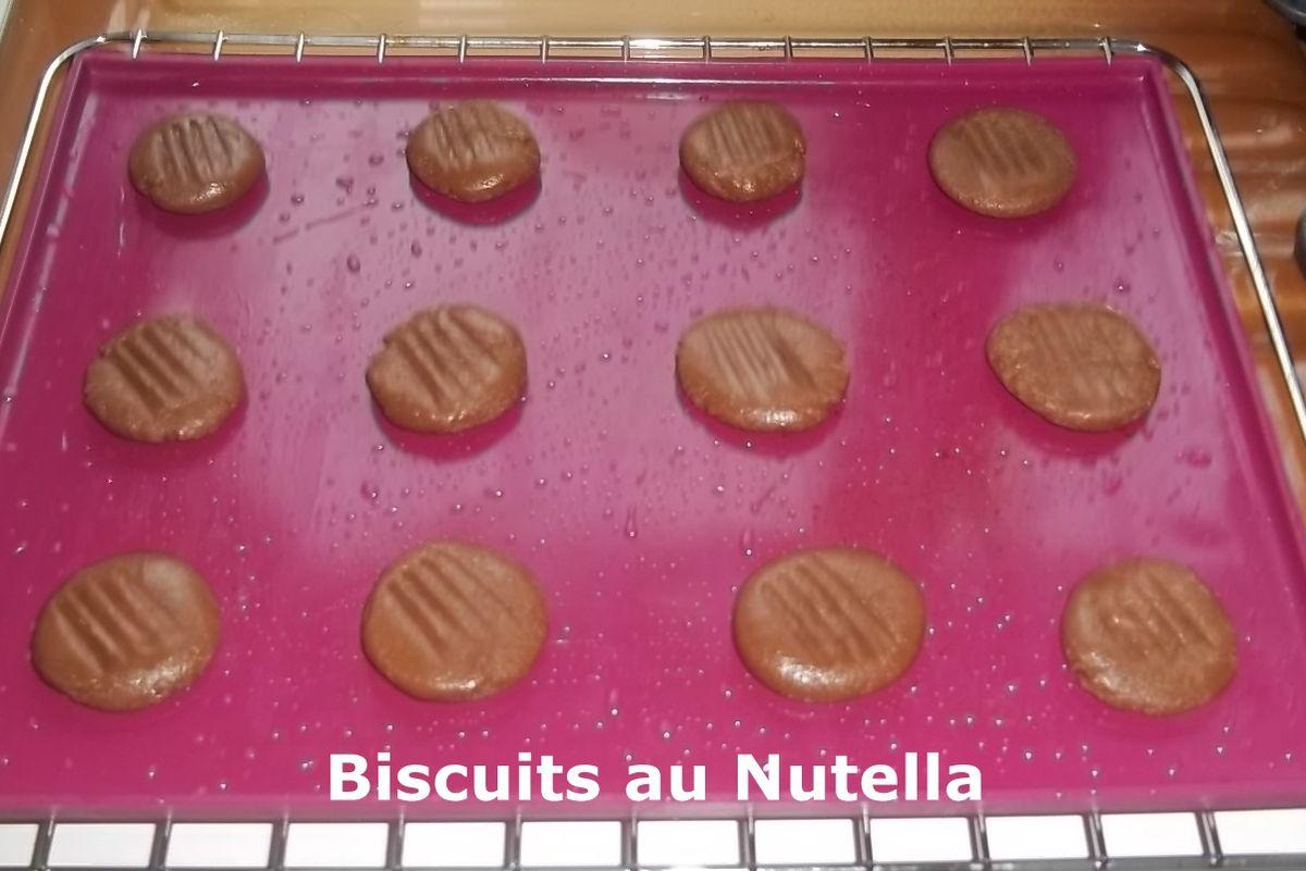 Un tour en Cuisine Rapide #154 - Biscuits au Nutella
