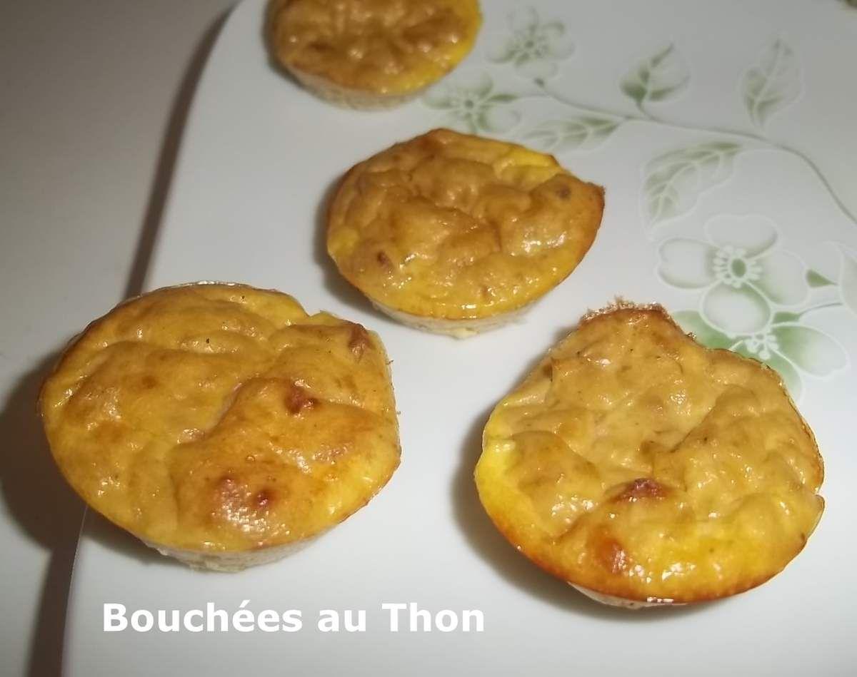 Un tour en Cuisine #370 - Bouchées au Thon