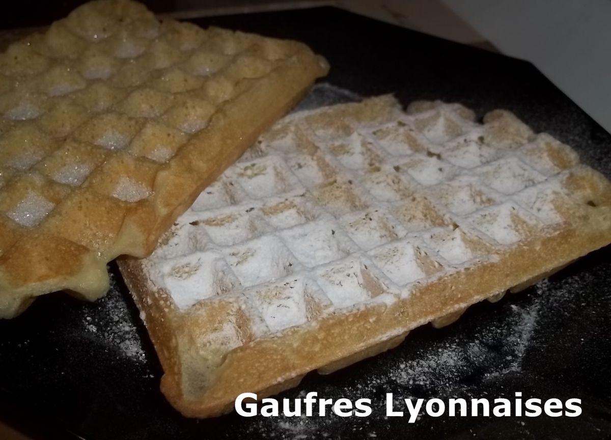 Un Tour en Cuisine #381 - Gaufres Lyonnaises