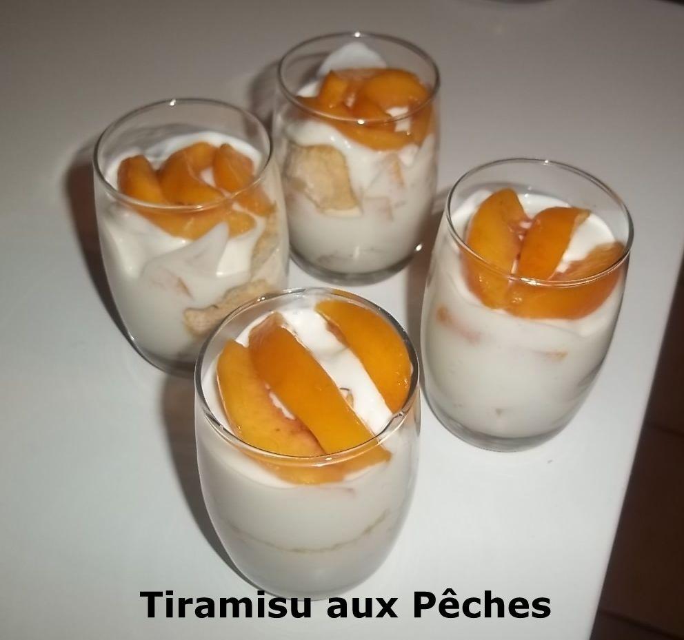 Un Tour en Cuisine #389 - Tiramisu aux Pêches