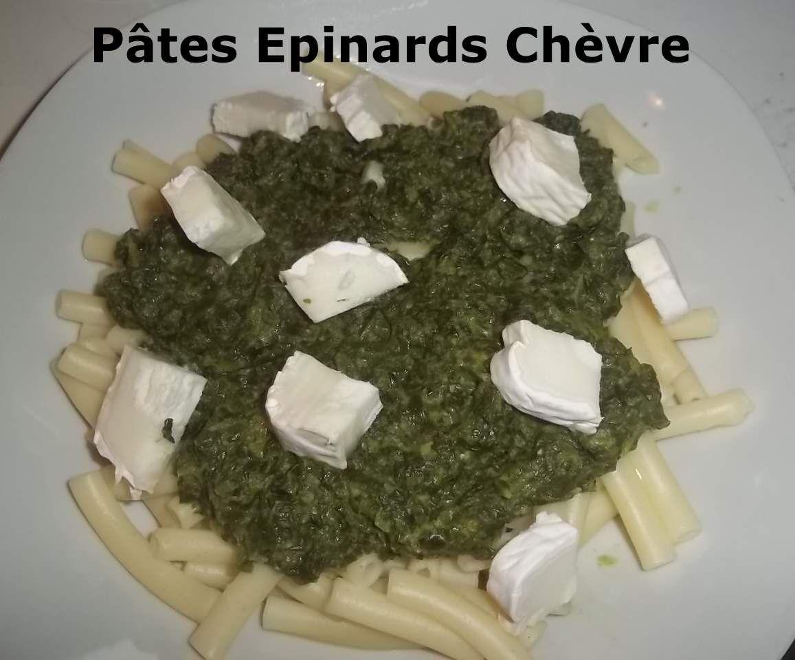 Un tour en Cuisine Rapide #164 - Pâtes Epinards Fromage de Chèvre