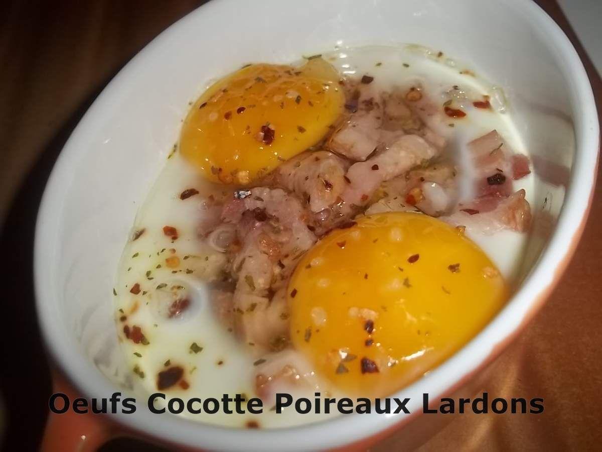 Un Tour en Cuisine Rapide #167 - Oeufs Cocotte Poireaux Lardons