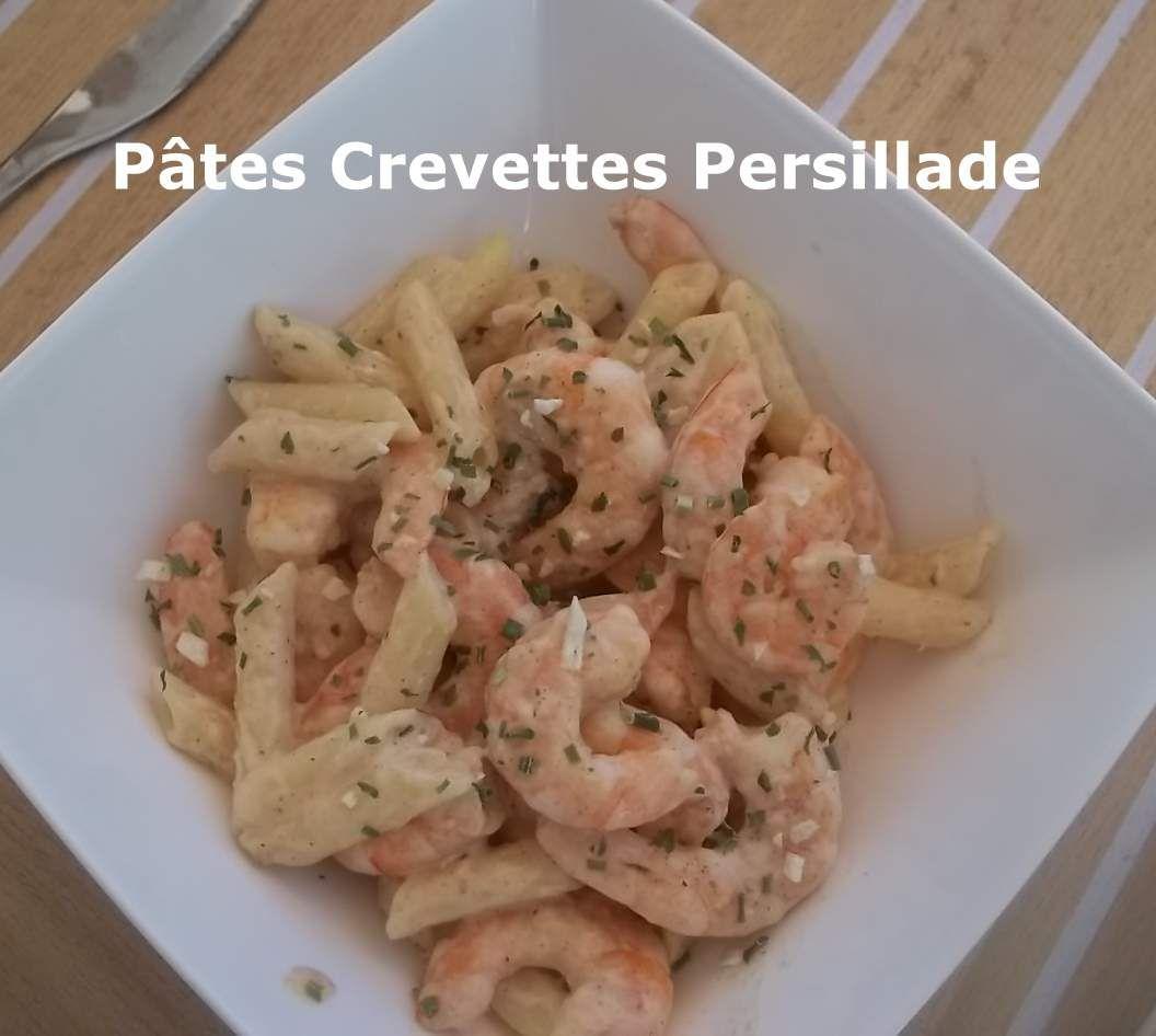 Pâtes Crevettes Persillade pour un Défi