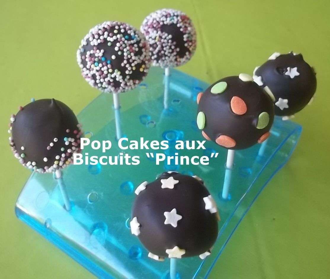 Pop Cakes aux Biscuits &quot&#x3B;Prince&quot&#x3B;