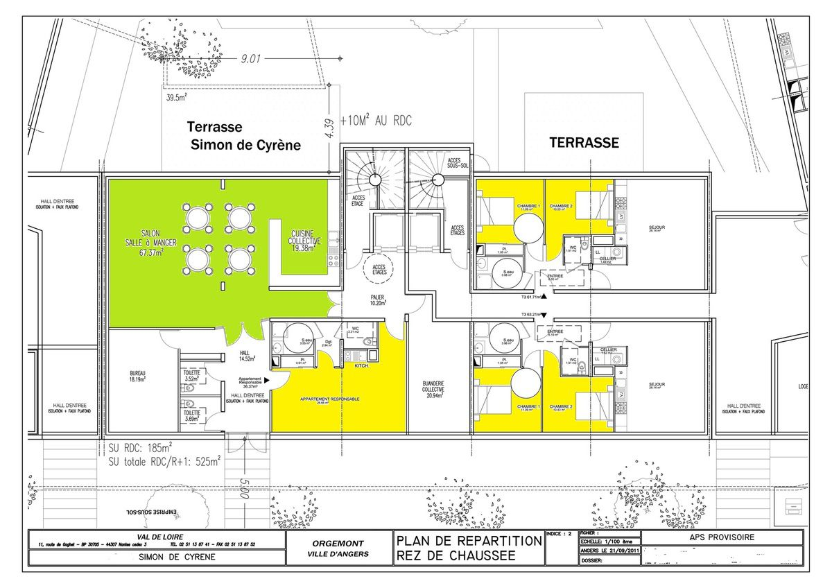 plan appartement handicapé