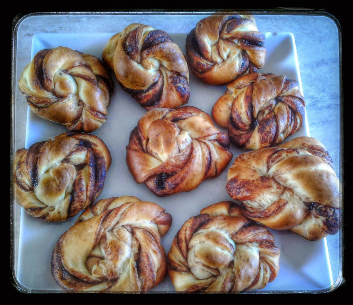 Torsade Danoise au thermomix ou kitchenaid