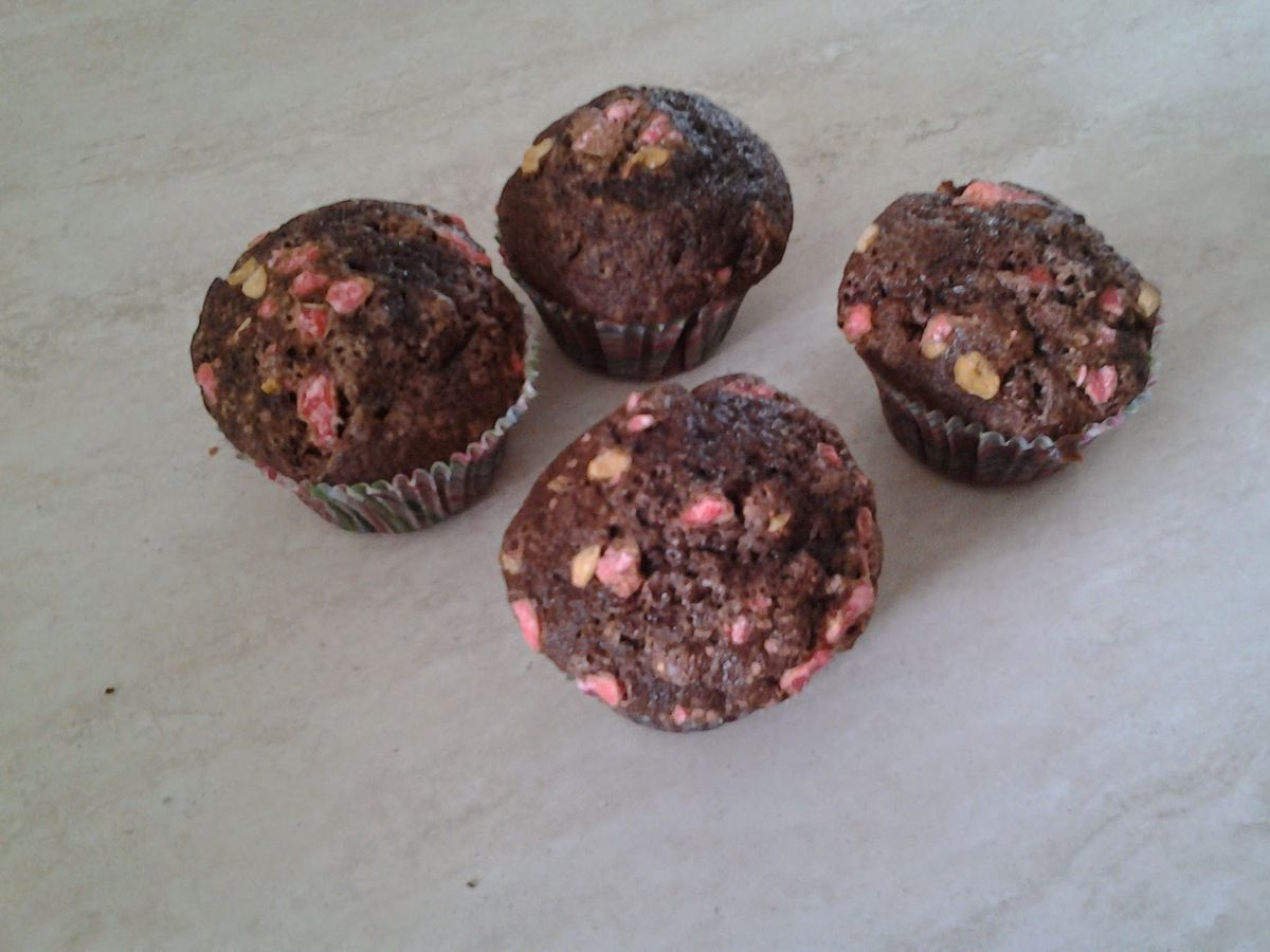 muffins chocolat praline de christophe Michalak au kitchenaid