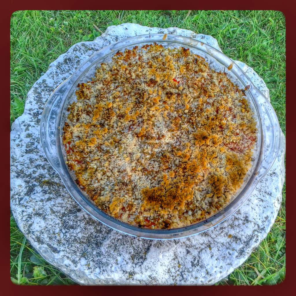 Crumble de tomate au thermomix