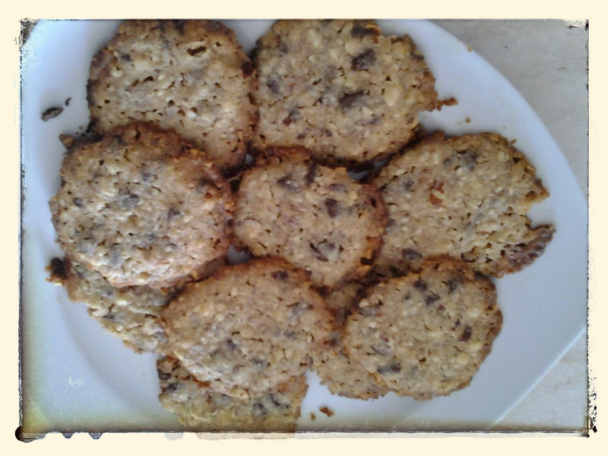 Cookies sans oeufs au Kitchenaid