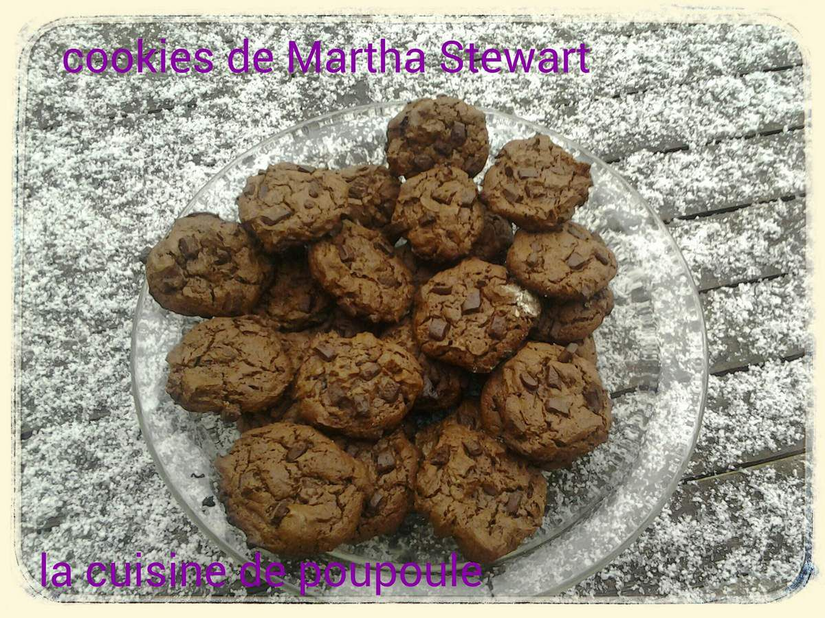 Cookies de Martha Stewart au thermomix