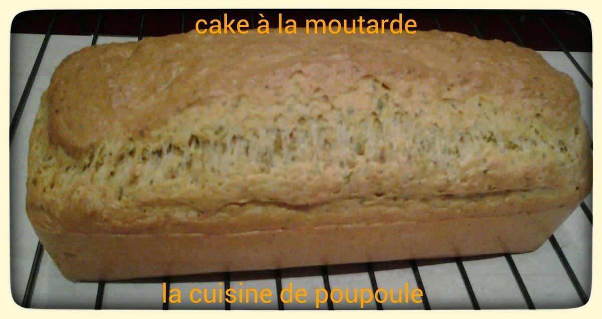 Cake Lardons Moutarde Thermomix