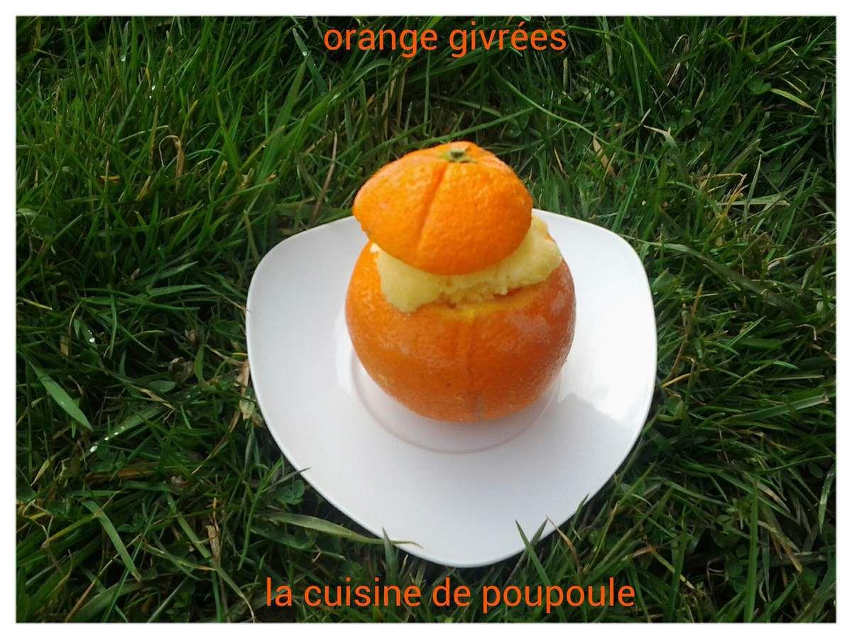 Oranges givrées au thermomix