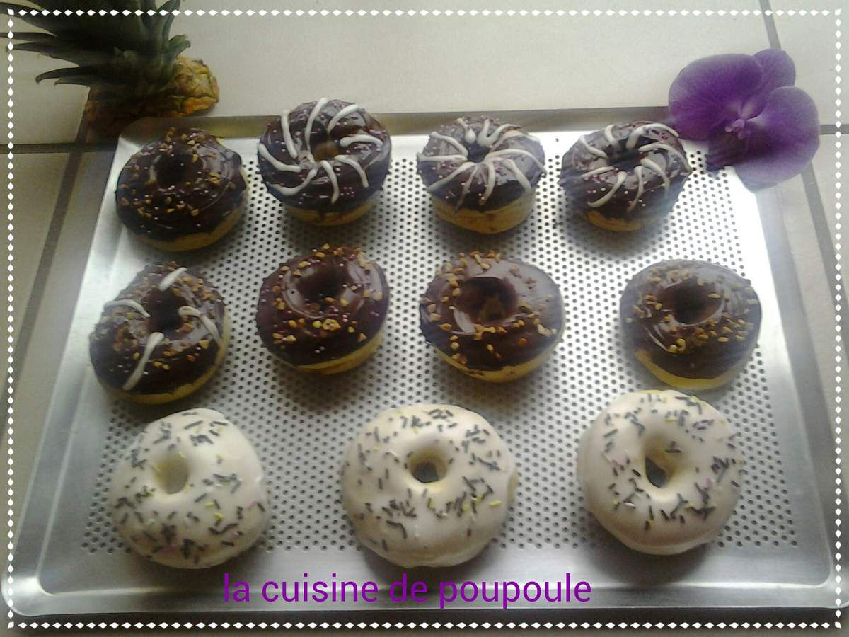 Donut's au four au thermomix