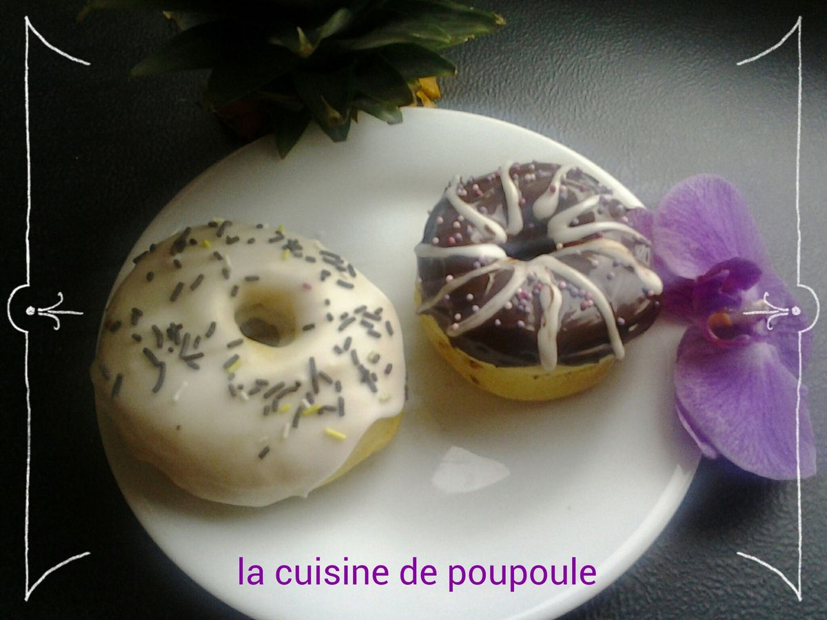 donut 39 s au four au thermomix la cuisine de poupoule. Black Bedroom Furniture Sets. Home Design Ideas
