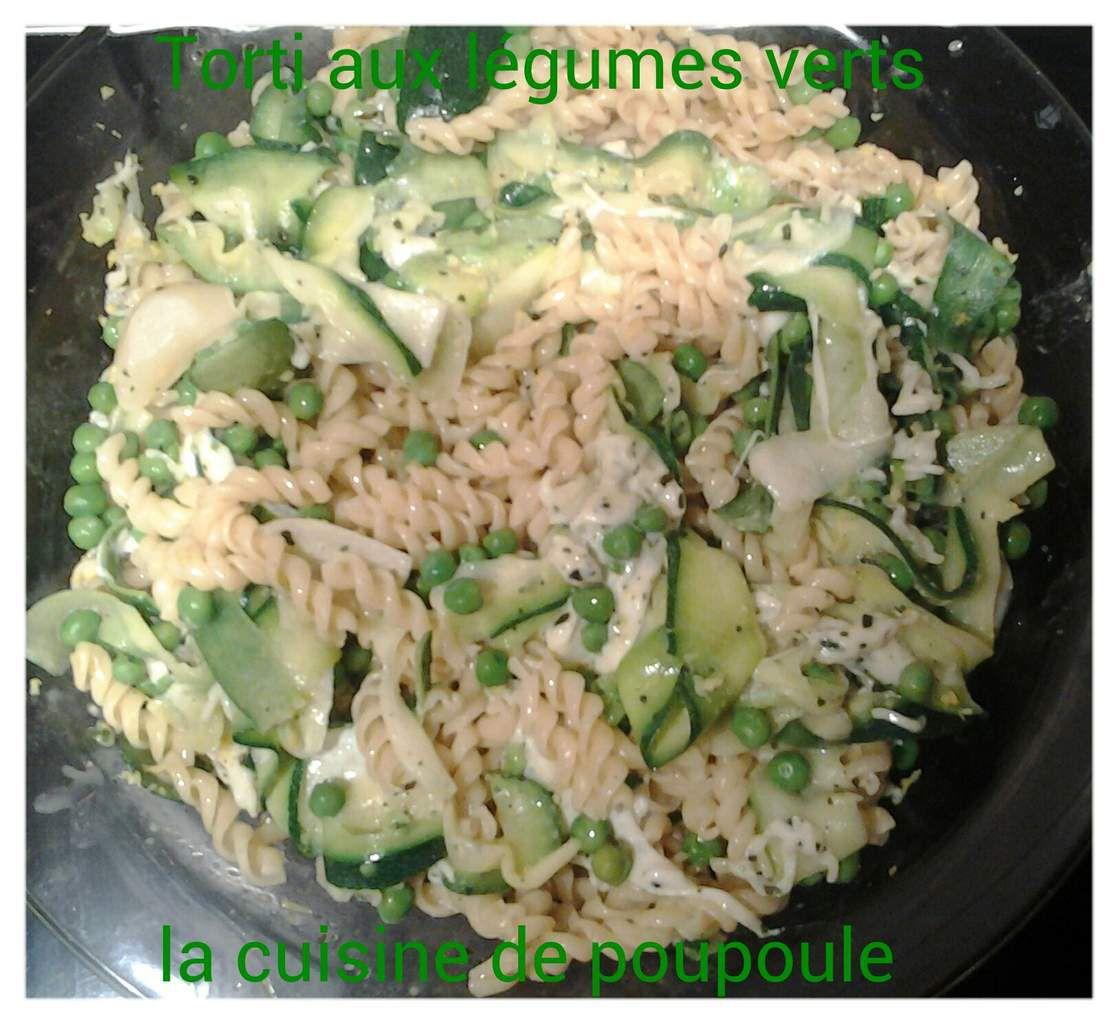 Pâte aux petits légumes verts au thermomix