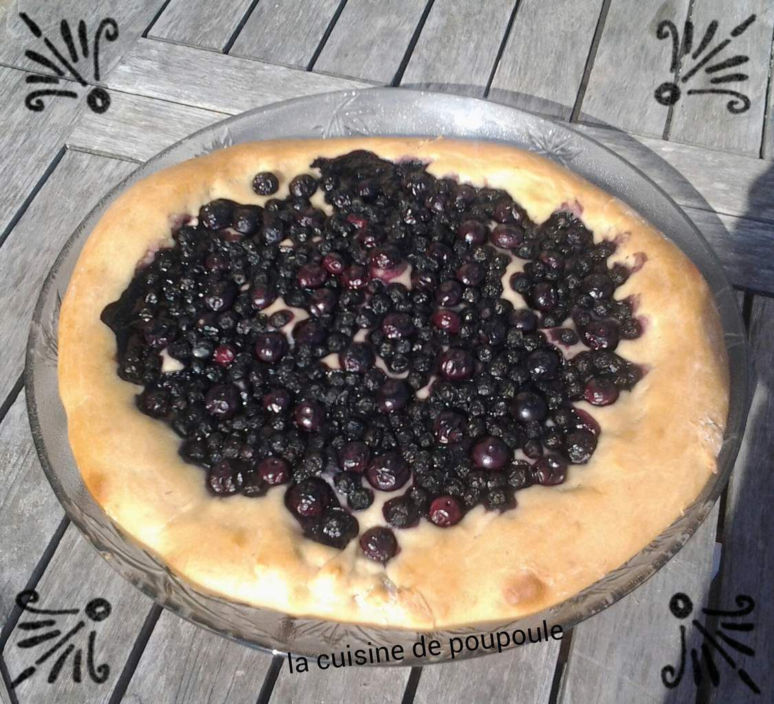 Cake Myrtille Thermomix