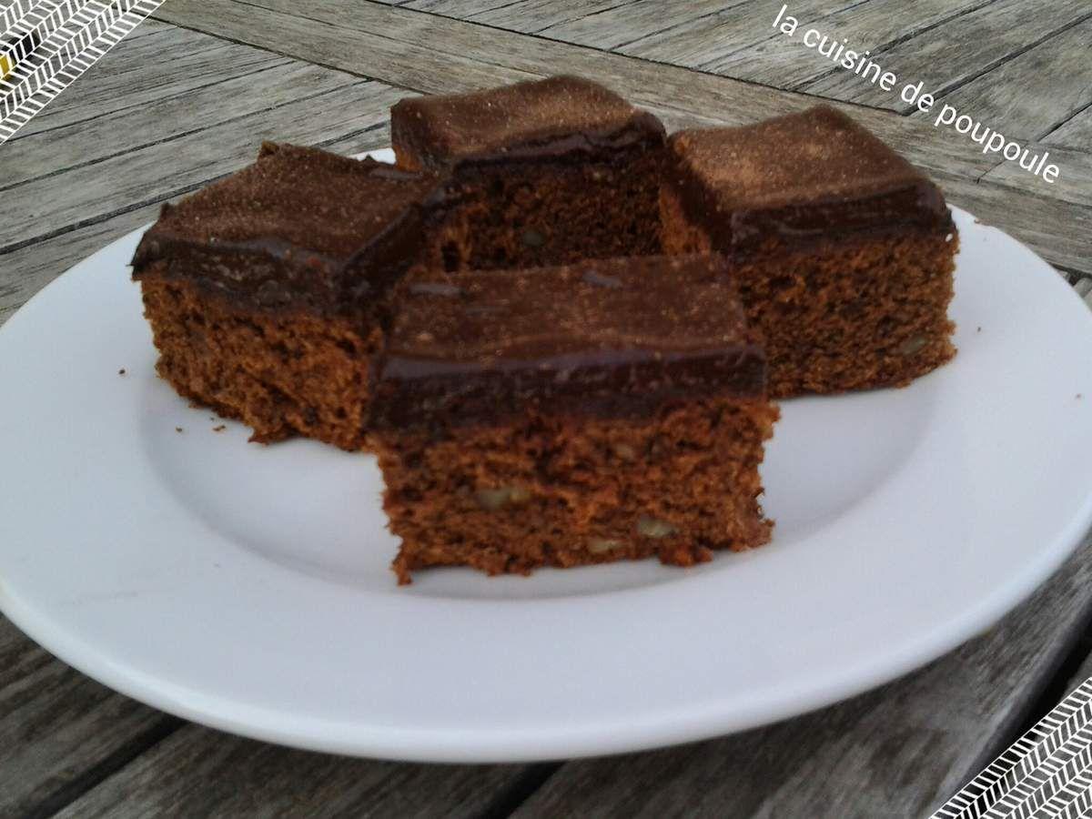 Brownies à la Cardamome et noix de pécan au thermomix ou sans