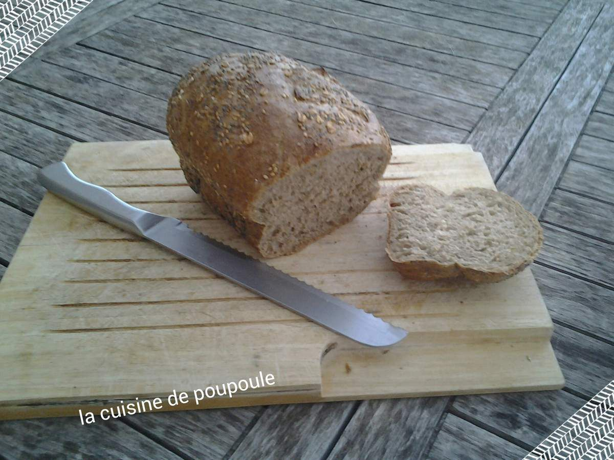 Pain multi cereales au thermomix