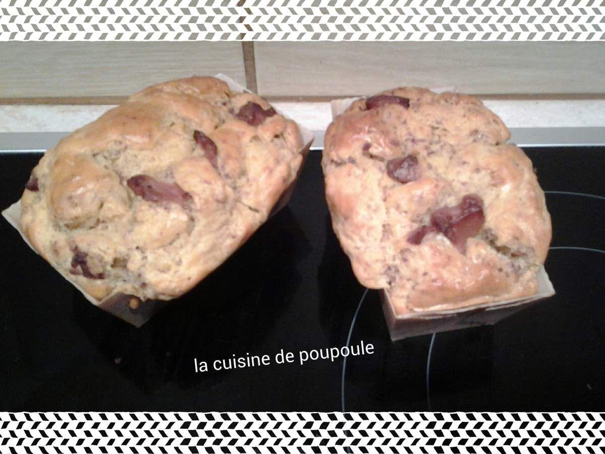 Cake au magret fumé et foie gras au thermomix ou sans