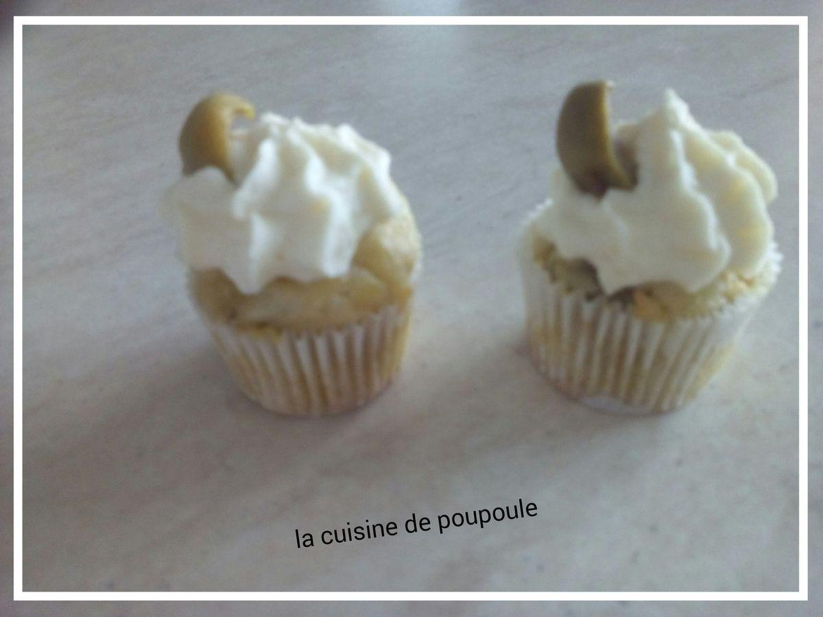 Cupcake jambon olives au thermomix ou sans