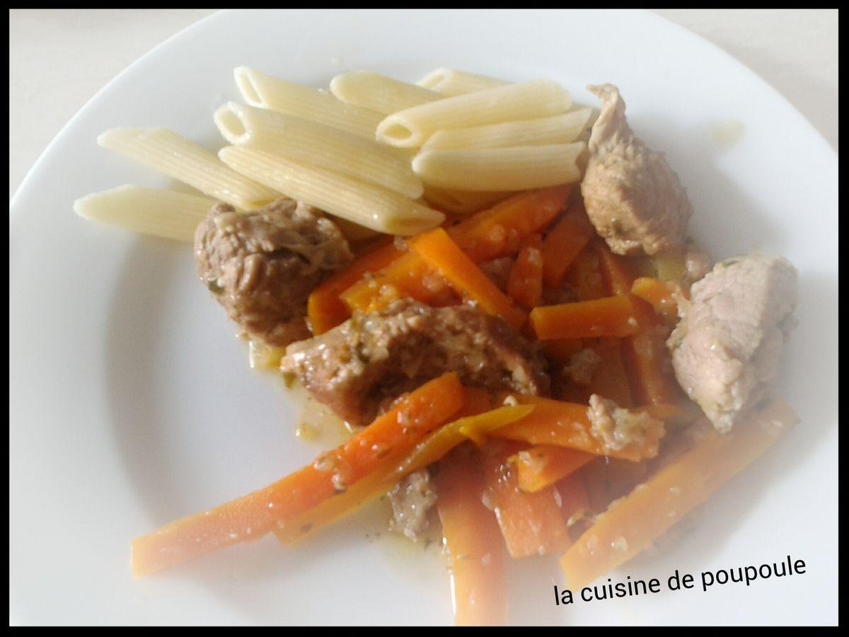 Veau aux carottes