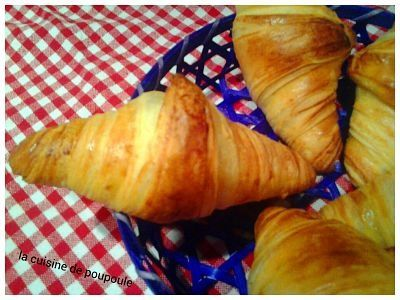 Croissant au kitchenaid de Christophe Fleder