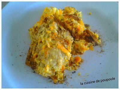 Gratin courgette carottes au thermomix ou sans