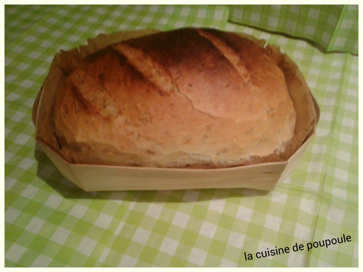 Pain au thym au kitchenaid