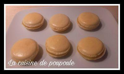 Macaron  à la meringue Italienne à la vanille (Kitchenaid)