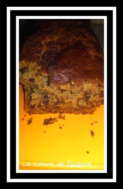 Cake  Ef Bf Bd La Banane Et Chocolat Et Rhum