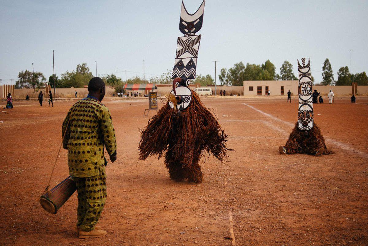 Cérémonie au Burkina Faso