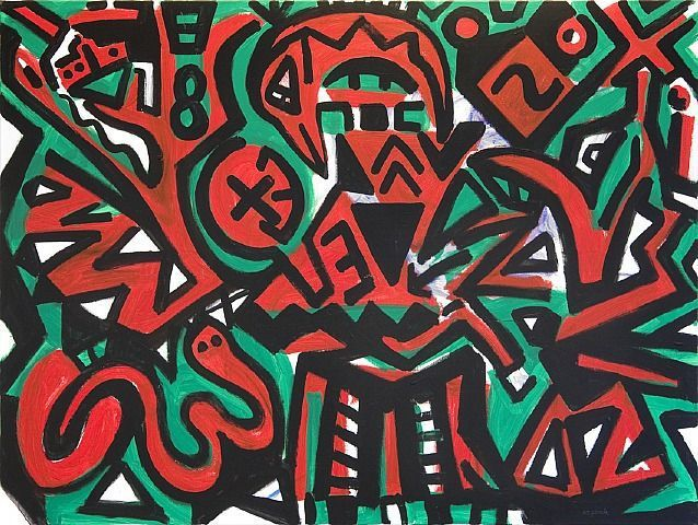 A.R. Penck exhibition