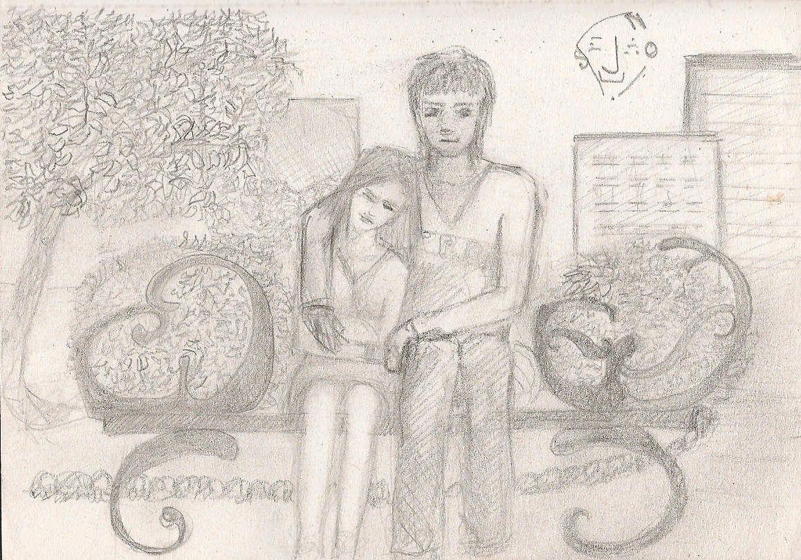Les amoureux sur les bancs ... ;)
