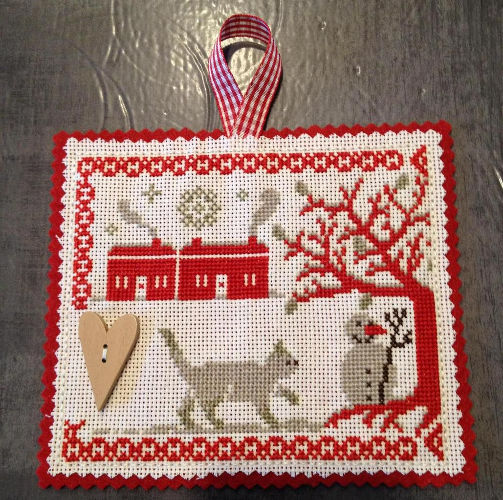 Petite broderie d'hiver