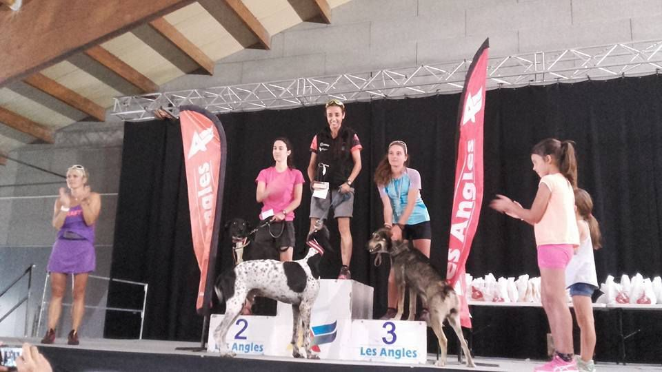 Podium de Saggat et Lisa