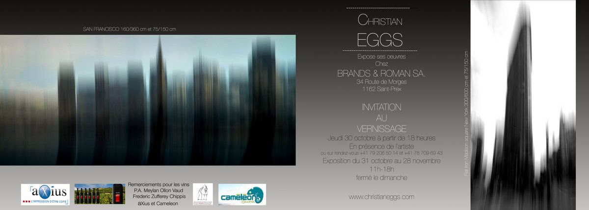 EXPO BRANDS & ROMAN CHRISTIAN EGGS 2014