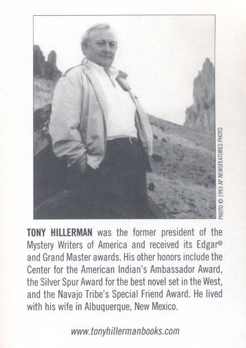 Tony Hillerman, Skinwalkers – a nightmare of ritual witchcraft