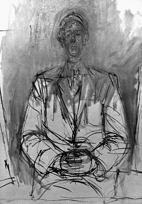 Yanaihara Isaku, Avec Giacometti – «Il faut tout effacer