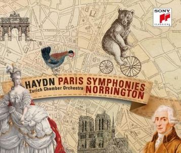 Haydn Paris symphonies, Sir Roger Norrington