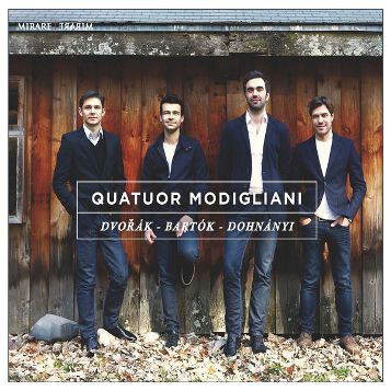 Quatuor Modigliani, Dvořák - Bartók - Dohnányi