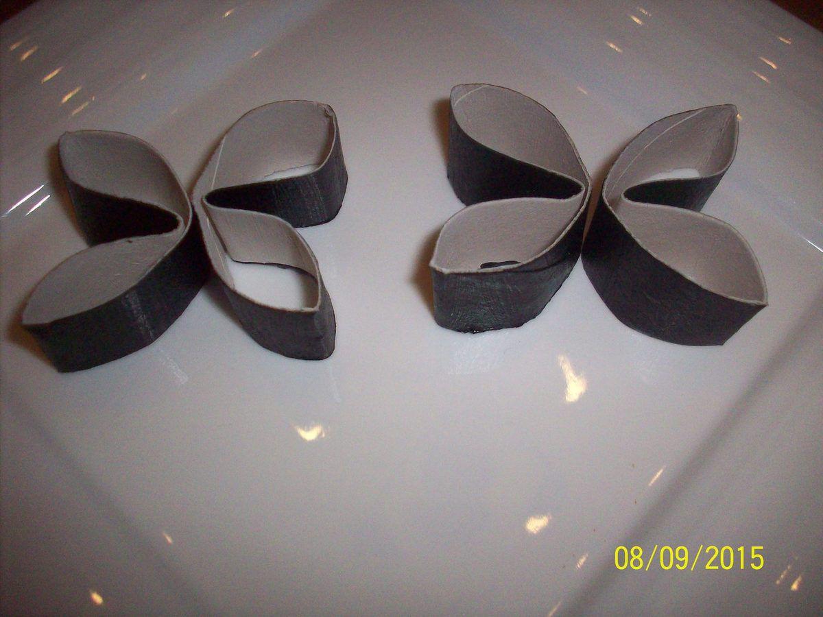 Papillon en rouleau papier wc