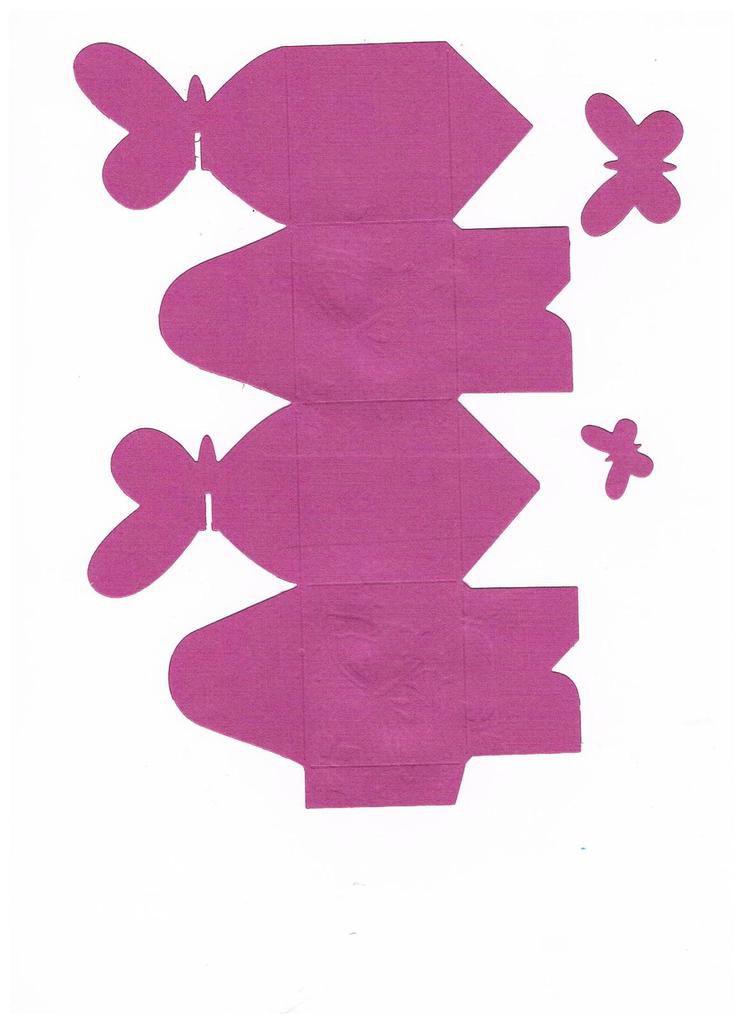 Patron boîte papillon à imprimer et décorer selon vos envies.