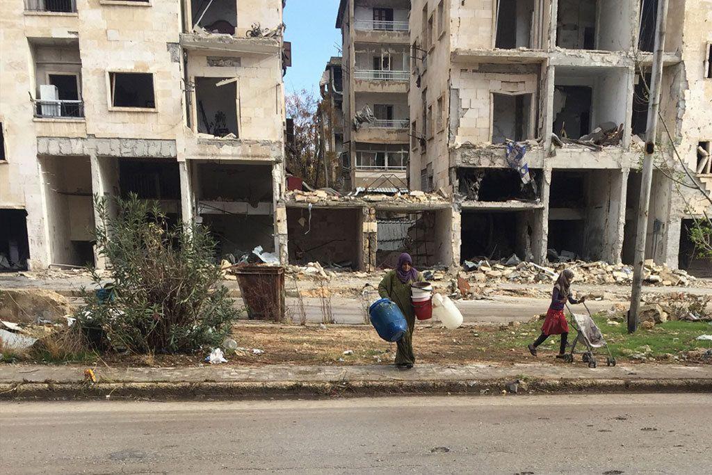 Bevölkerung in Aleppo Quelle: UNHCR