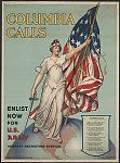 Columbia calls--Enlist now for U.S. Army, 1916 Quelle: Libary of the Congress