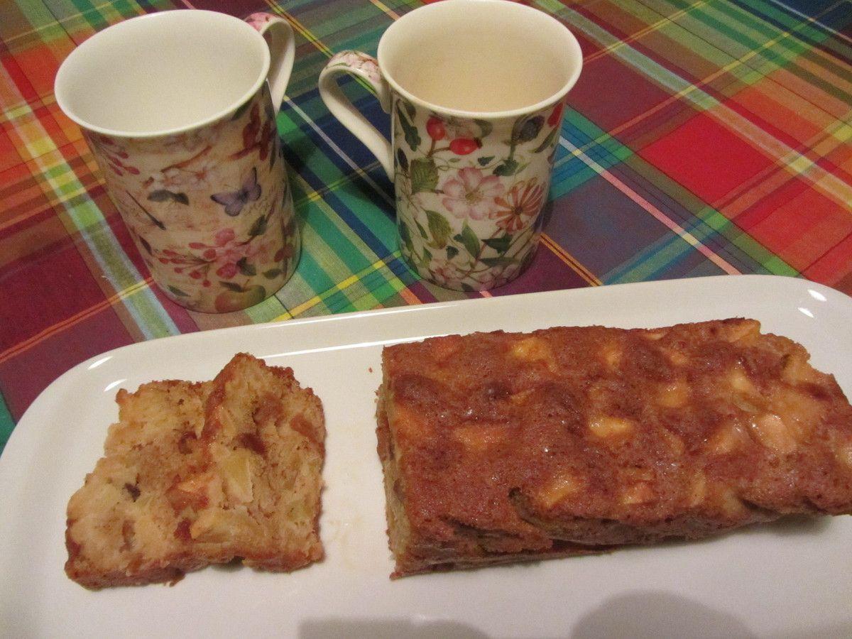 Cake de l'oubli ( aux pommes et sans beurre )