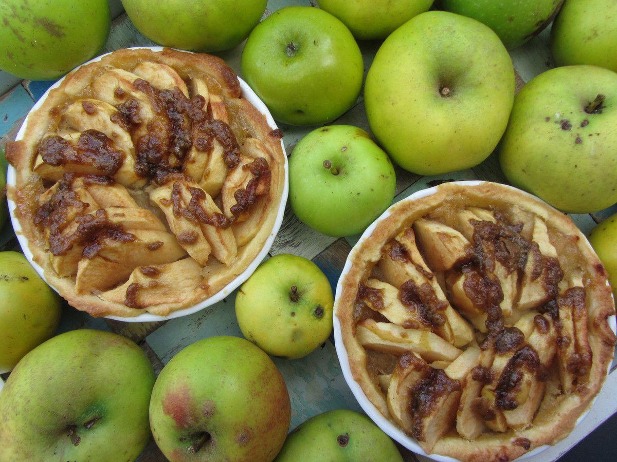 Tartelettes aux pommes caramélisées