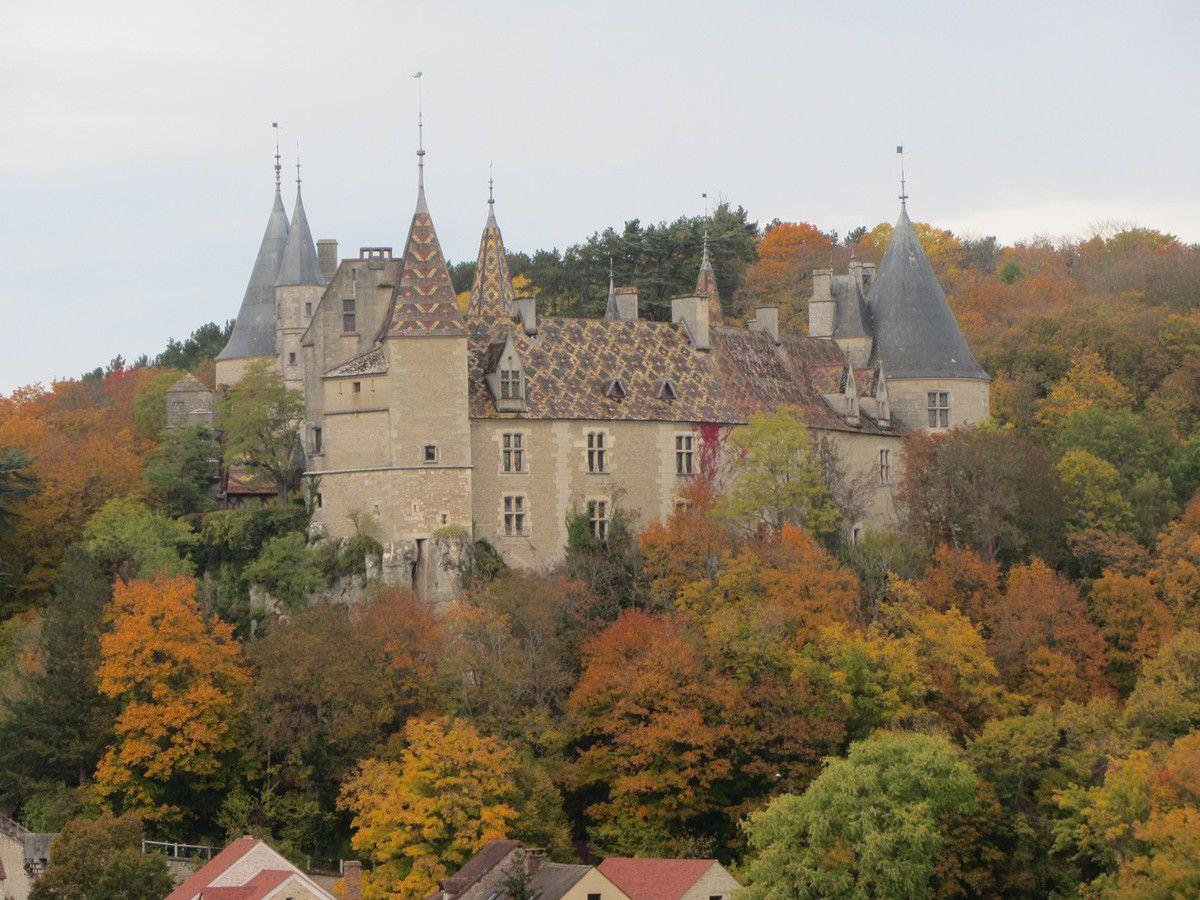 Château de La Rochepot Bourgogne