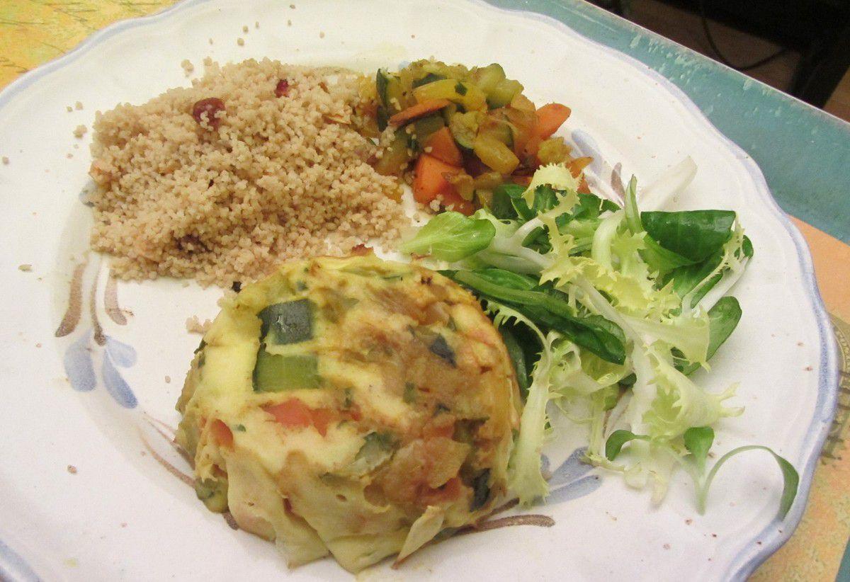 Gâteaux de légumes