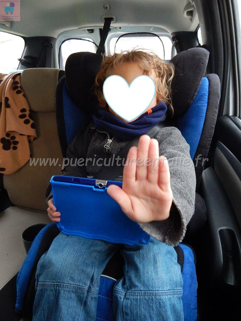 PHOTOS MONTAGE / INSTALLATION DACIA LOGAN MCV / TEST ENFANT 105CM